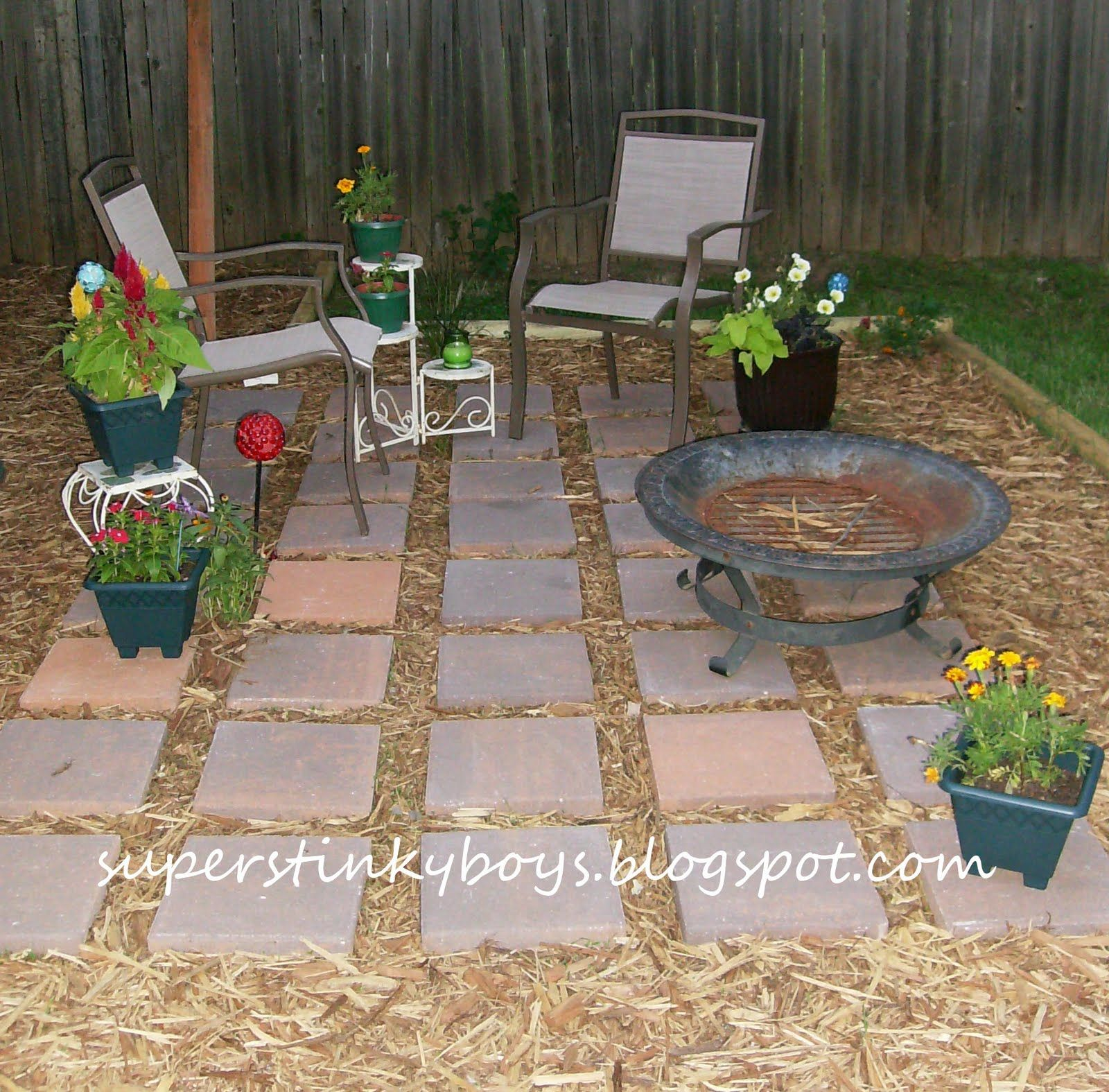 Great Backyards On a Budget | We had a great time and I ... on Small Backyard Designs On A Budget id=37590
