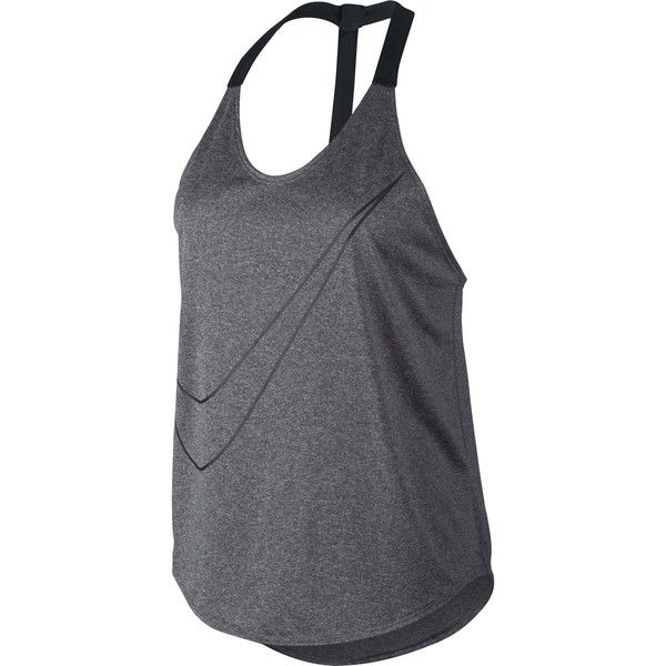 Nike Training Tank (270 SEK) �?liked on Polyvore featuring
