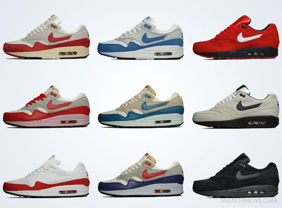buy online 76305 87098 Nike Air Max 1 Spring 2013 Preview