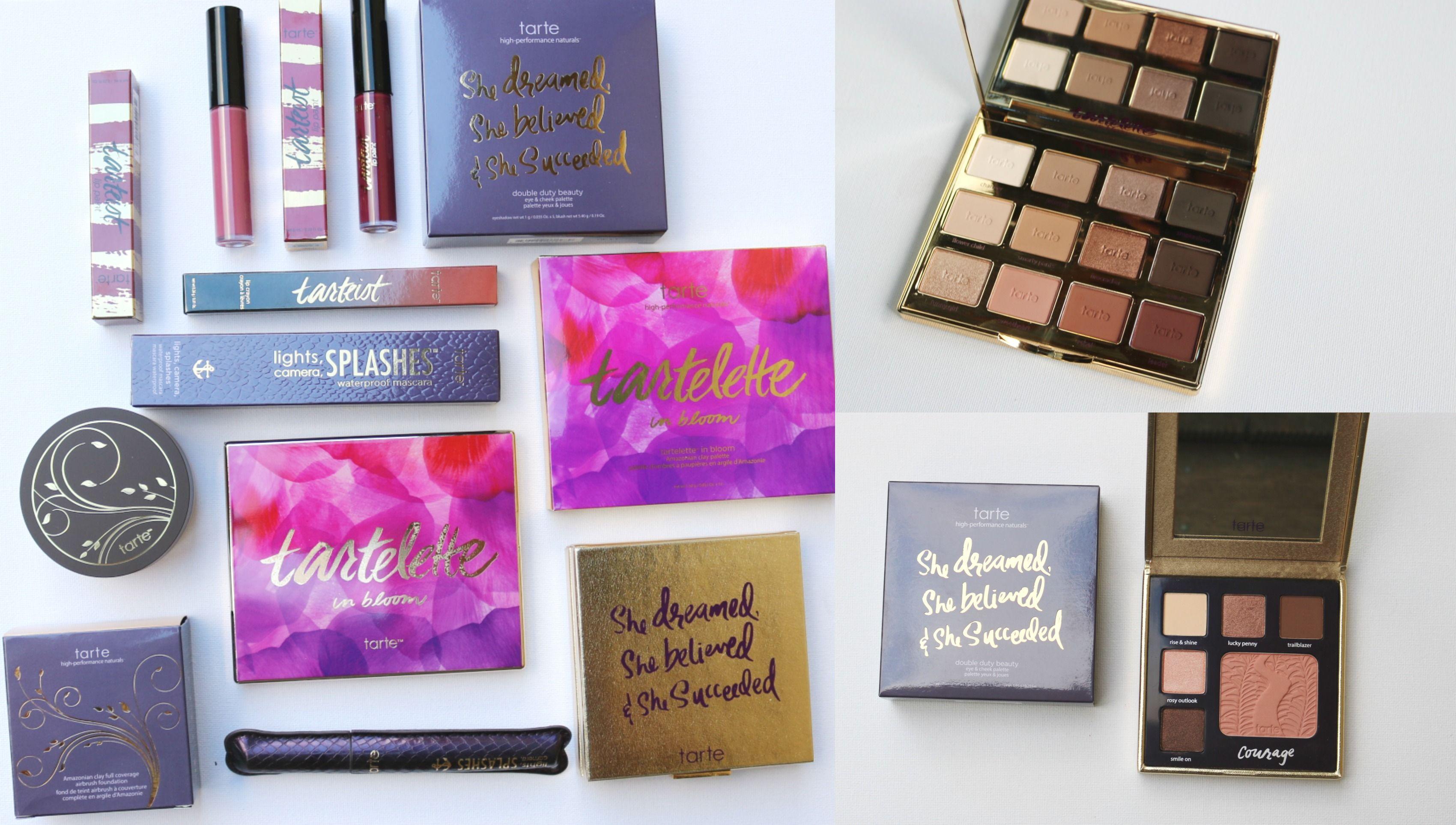 Huge Tarte Sale Haul Save Money On Expensive Makeup
