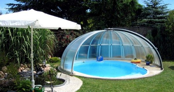 Superb Gallery Of Pool Enclosure Orient Installations   High Quality Retractable  Pool Cover