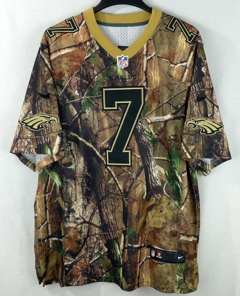 check out 4d883 f646b Philadelphia Eagles Michael Vick #7 Realtree Camo Football ...