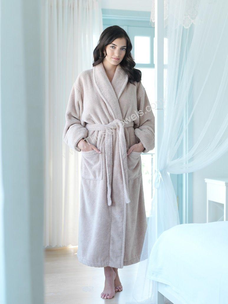 UNISEX 100 /% COTTON TERRY TOWELLING SHAWL COLLAR BATHROBE DRESSING GIFT SET