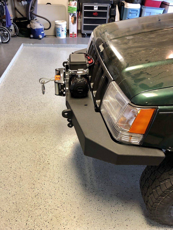 Jcr Offroad Diy Zj F Wn Diy Front Winch Bumper For 93 98 Jeep Grand Cherokee Zj Jeep Modificados Jeep Remolques De Carga