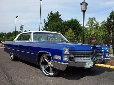 1966 Cadillac On 22s White Leather Chrome 22 S On 2040cars Year