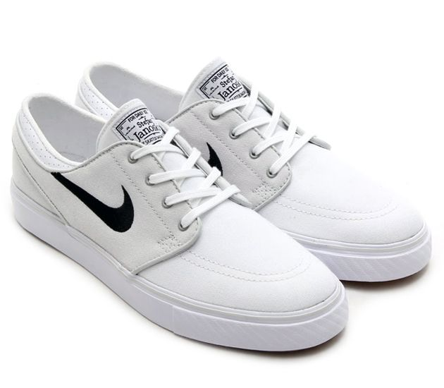 Nike SB Stefan Janoski Low - Light Base Grey / Black - White