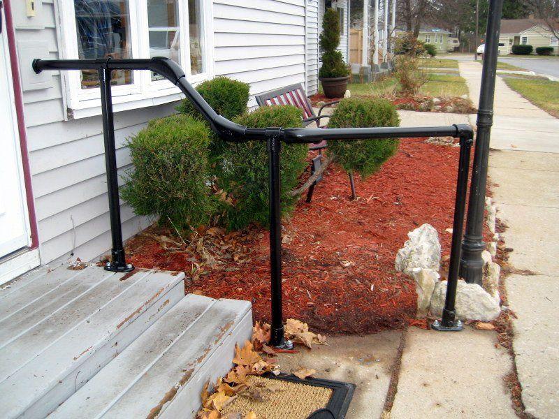 metal stair railing that curves future fixer pinterest metal