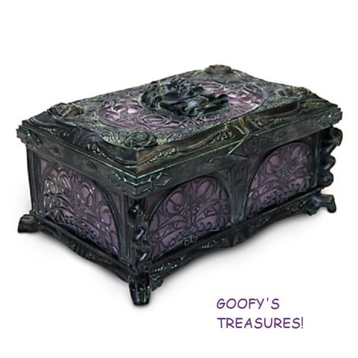 Disney Parks Haunted Mansion Musical Jewelry Box Madame Leota NEW