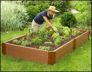 how to build raised vegetable garden beds - How To Build A Raised Vegetable Garden