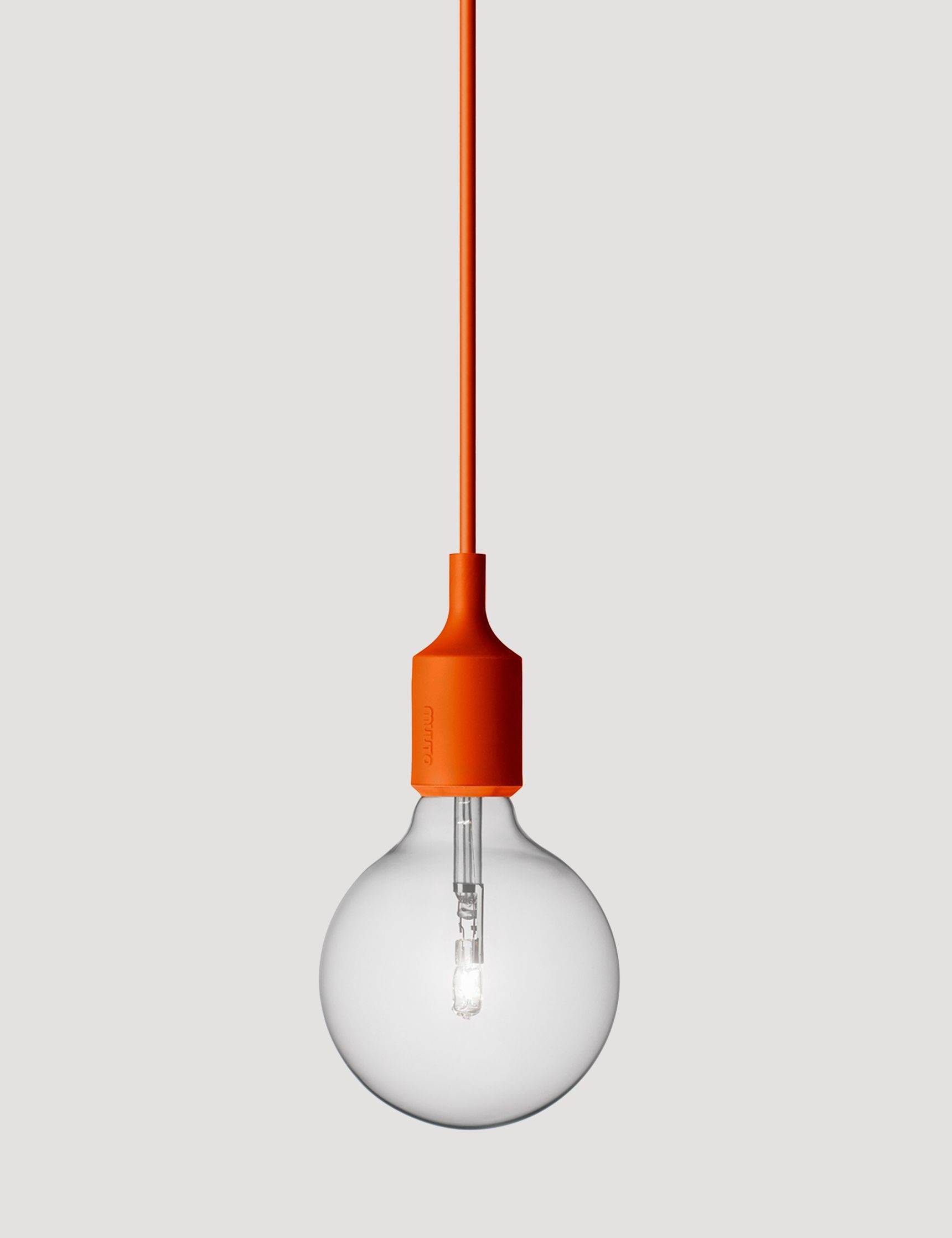 E27 has become a Muuto icon: A striking naked bulb that plays with ... for Muuto E27 Orange  545xkb