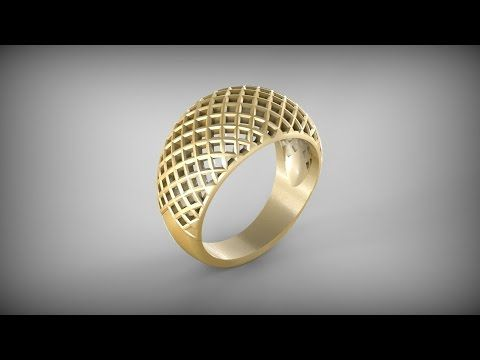 jewelry design tutorial creating a model for a 3d printer
