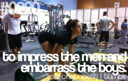 impress the men embarrass the boys