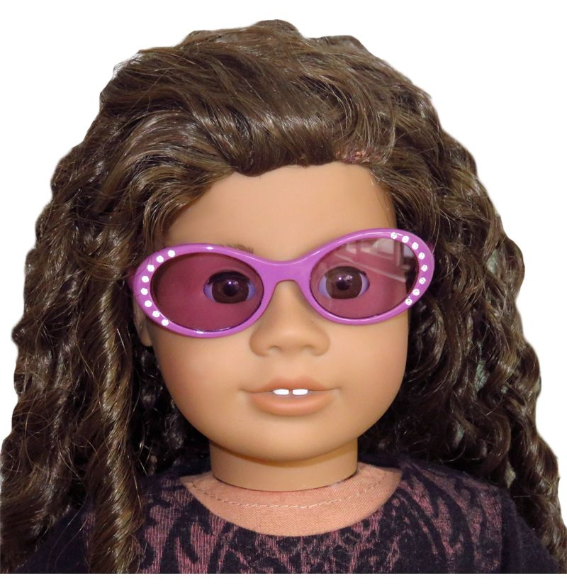 Stylish Sunglasses Frame Glasses for AG American Doll 18inch Doll Accessory Toy