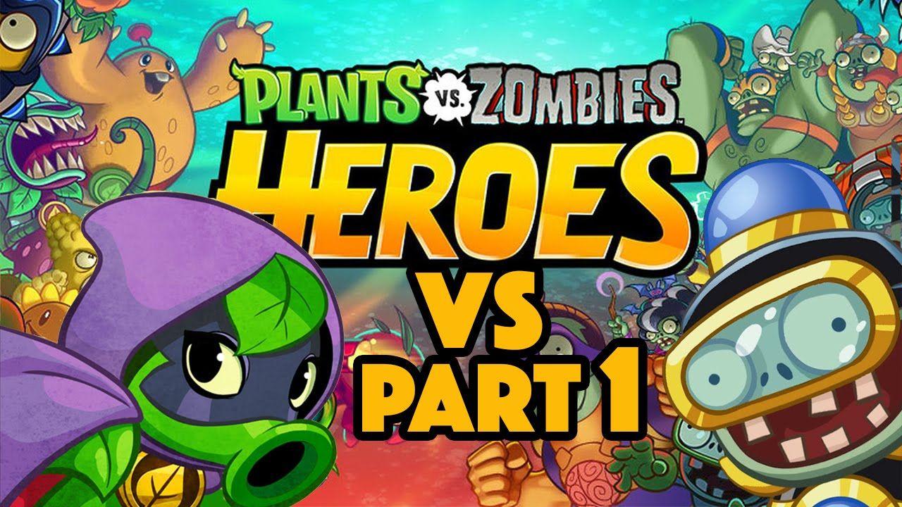 Green Shadow vs Impfinity Battle Plant vs Zombies Heroes
