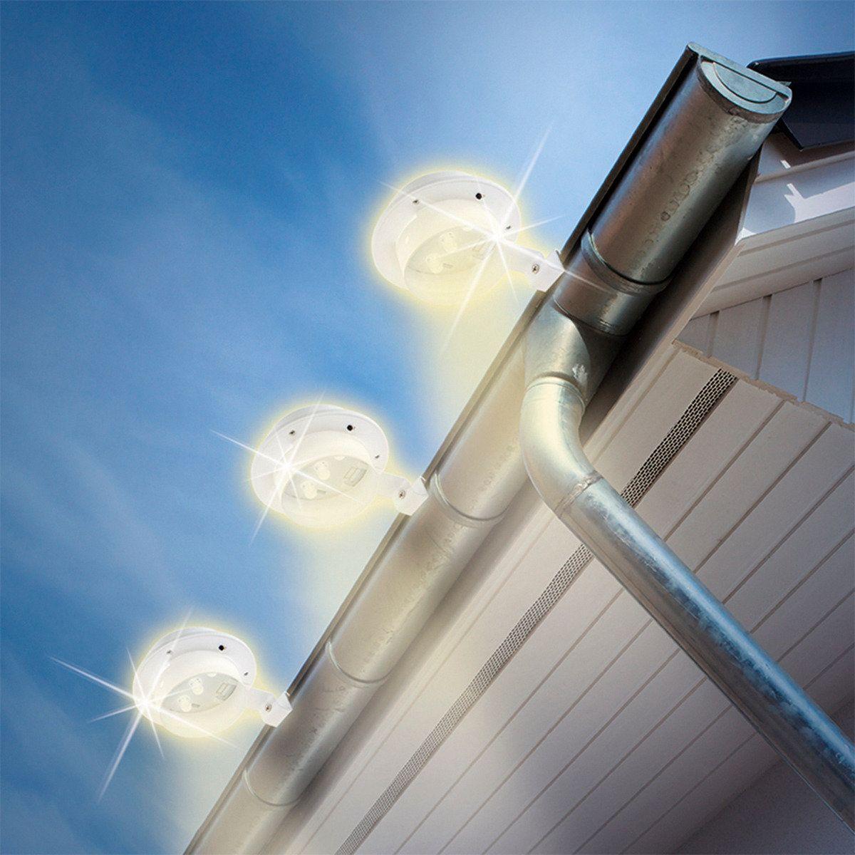 Solarzauber DachrinnenLeuchten, 3erSet online kaufen bei