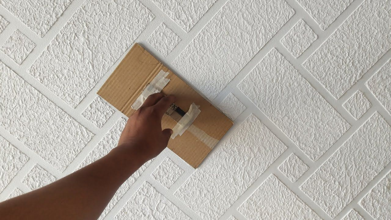 Brick wall painting cool and easy method youtube