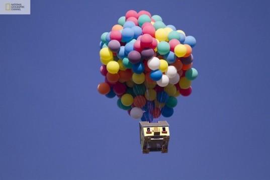 300 Balona Izdignaha Ksha V Nebeto Balloon House Up Movie House Flying Balloon