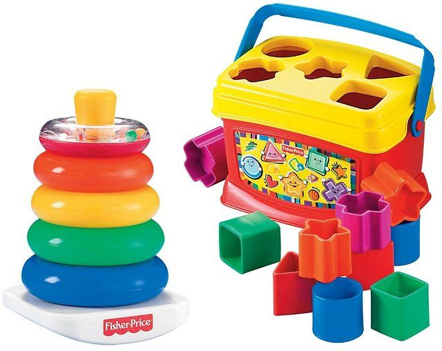 Fisher-Price Baby's First Blocks and Rock Stack Bundle $11.99 (amazon.com)