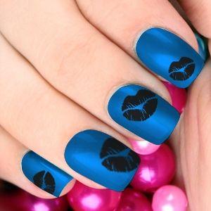 20 dazzling nail art designs with black nail polish black nail 20 dazzling nail art designs with black nail polish prinsesfo Images