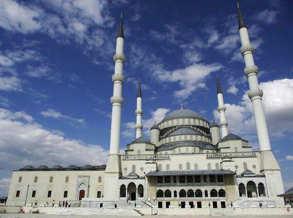 kocatepe mosque ankara turkey world most beautiful
