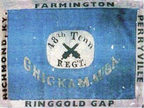 The 48th Tennessee Infantry Civil War Art Civil War Flags Civil War History