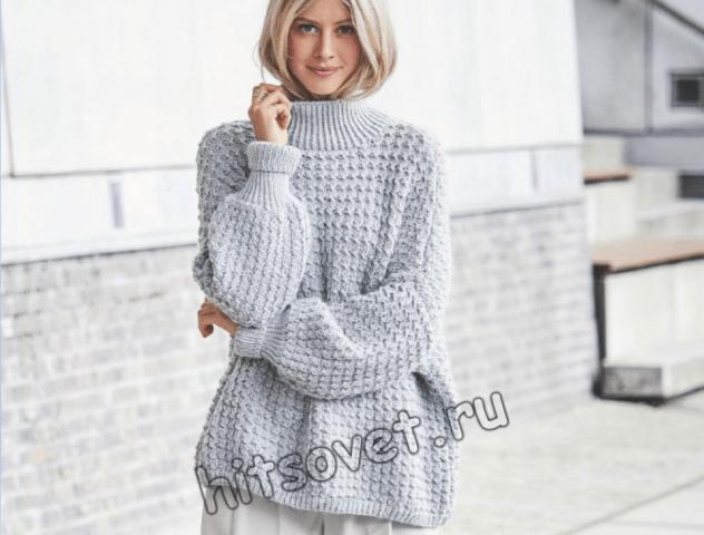 Модели свитеров ручной вязки женские спицами с описанием работы виктория баева фотограф