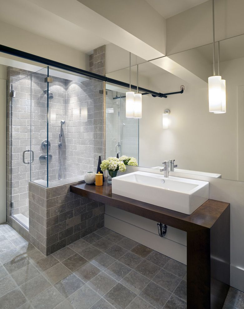 Small modern bathroom photos small bathrooms for a roomy looks showers in contemporary for Modern bathroom design ideas small spaces