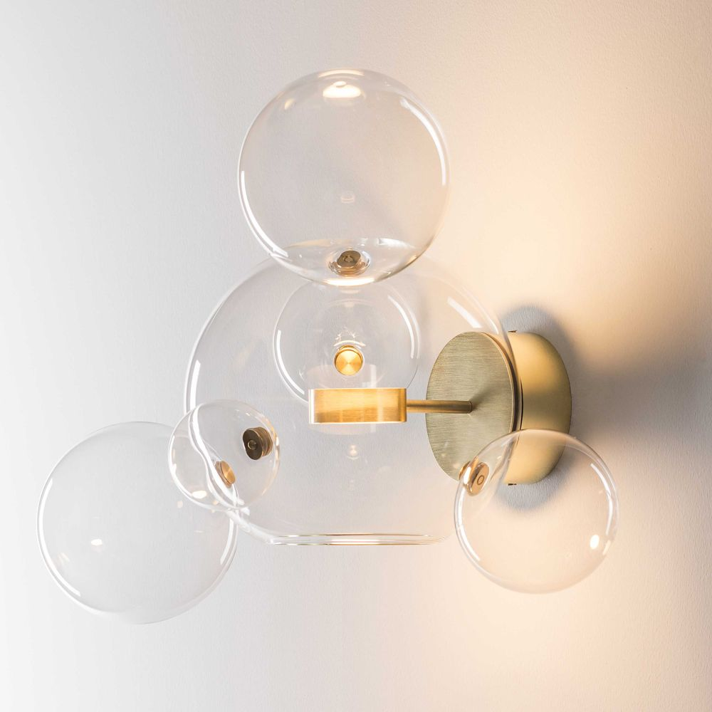 contemporary glass lighting. Shop SUITE NY For The Bolle Wall Sconce Designed By Giopato And Coombes More Contemporary Lights, Modern Sconces Italian Glass Lighting