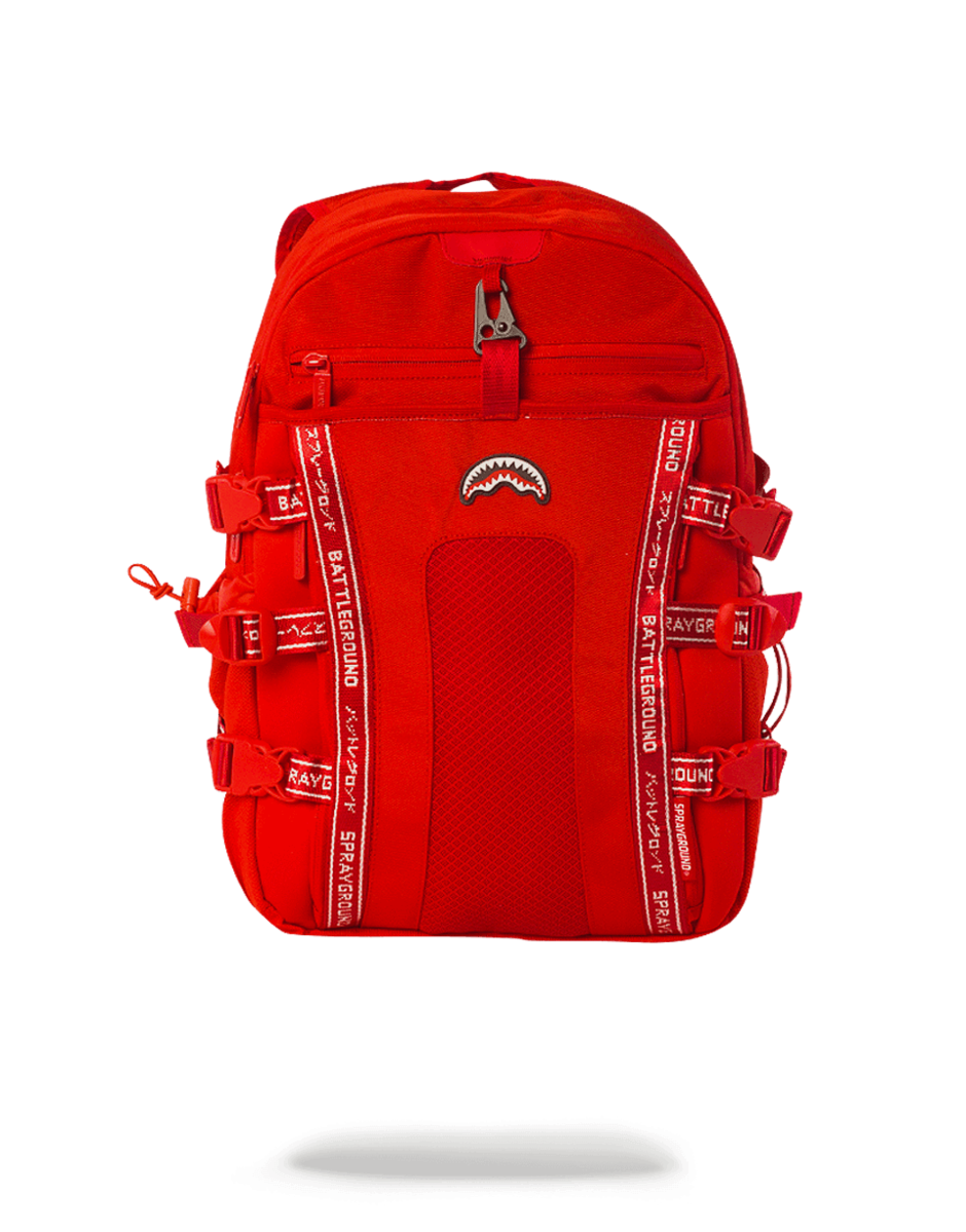 29e1abac6ee Sprayground Nomad Backpack Red Exterior Dimensions: 18