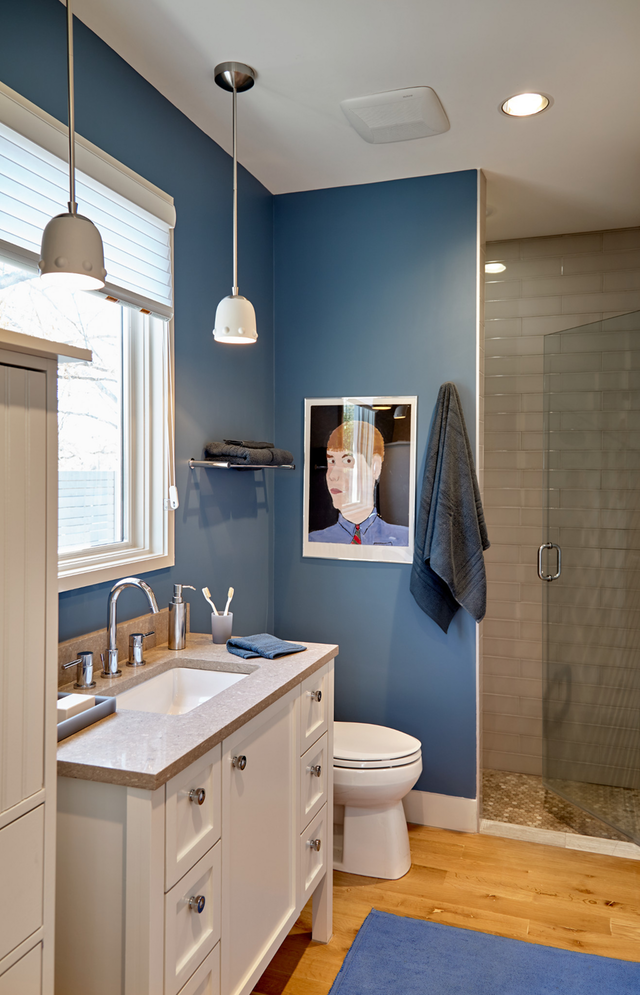 Behr S 2019 Color Of The Year Is A Lovely And Livable Blue Blue Bathroom Paint Bathroom Color Schemes Bathroom Paint Colors