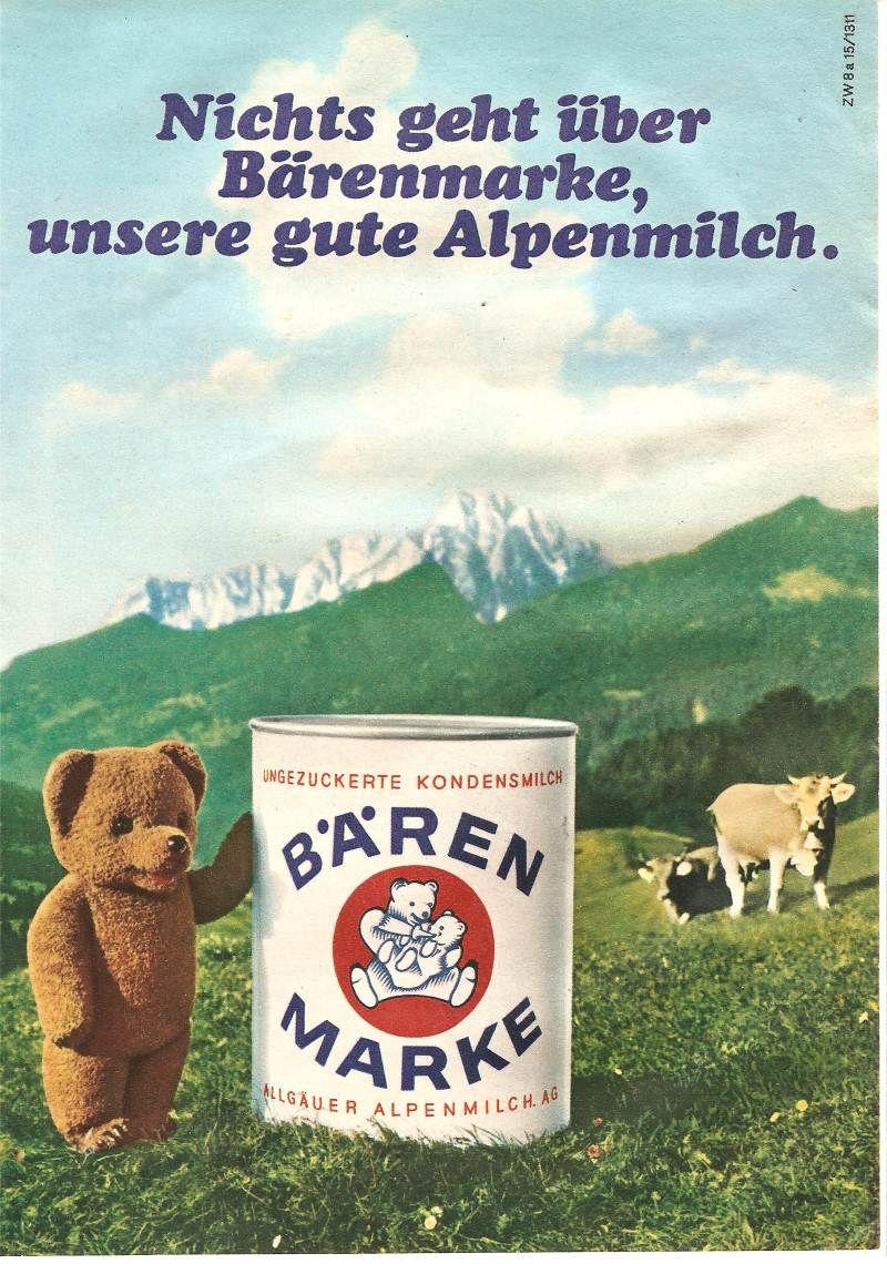 Bärenmarke Werbung