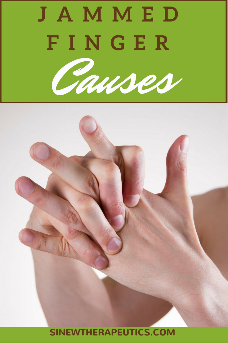 A Jammed Finger is most often caused when ligaments are torn or ...