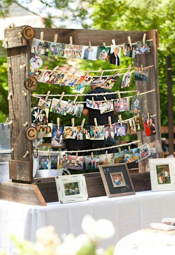 Memory Display Temas De Boda Organizar Boda Boda