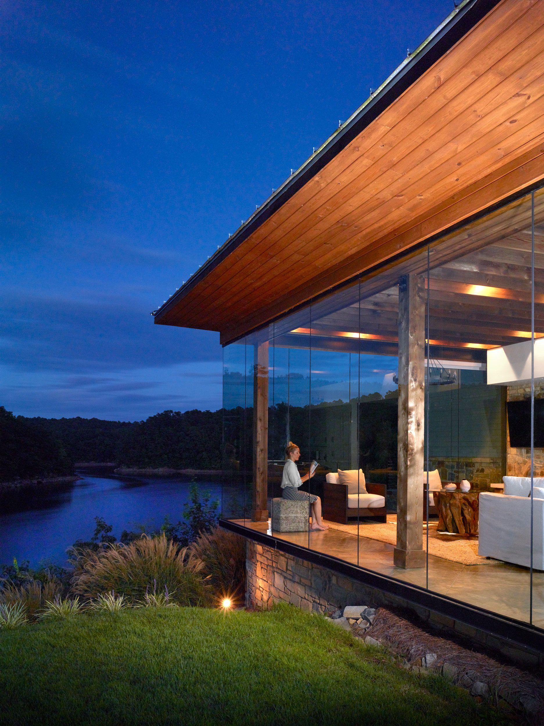 Modern Farmhouse, Lake House Living | Christopher | Architecture ...