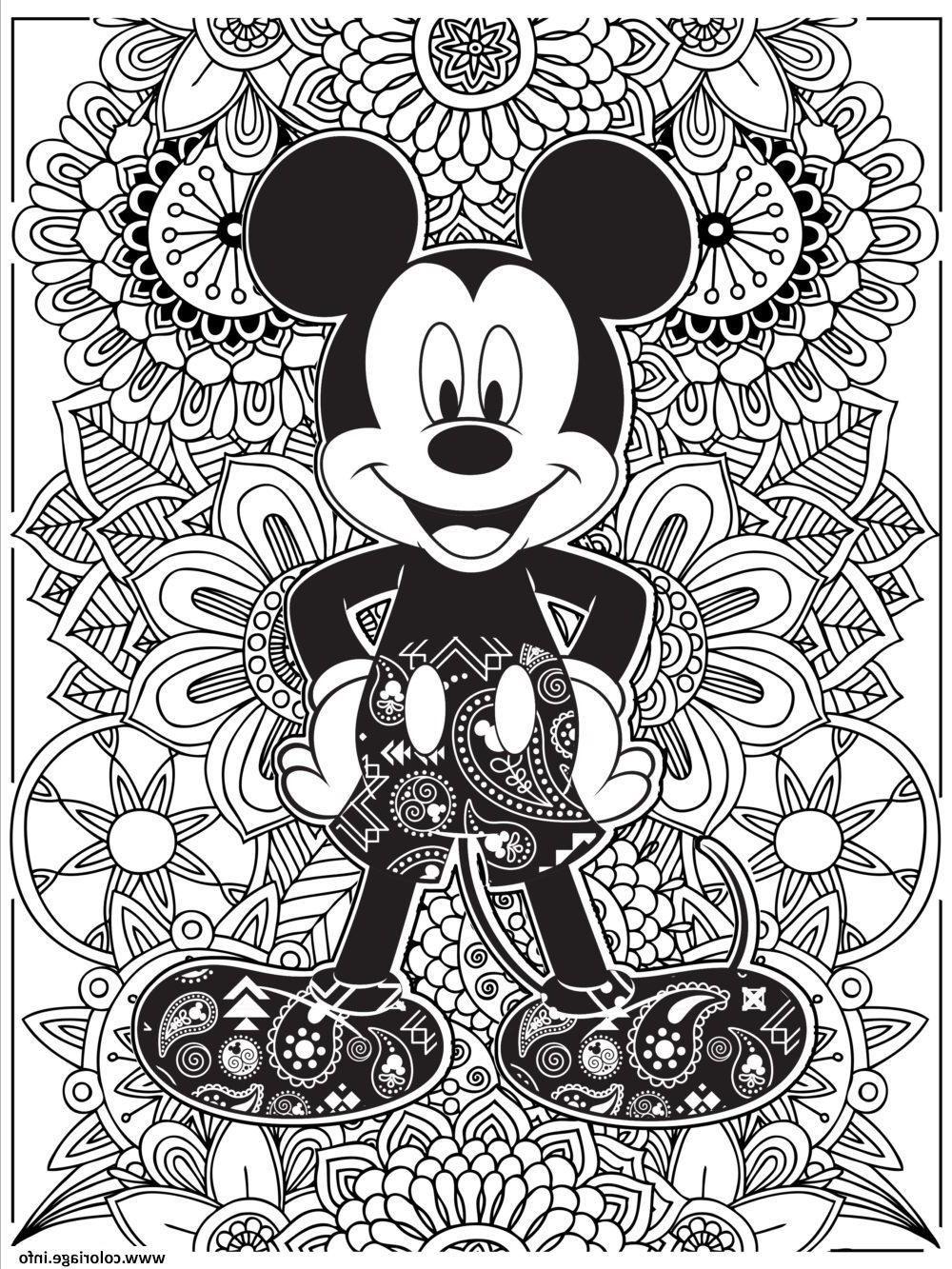 20 Impressionnant De Coloriage Difficile Disney Galerie in 20