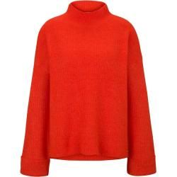 Photo of Tom Tailor Denim Damen Strickpullover mit großen Ärmeln, rot, Gr.M Tom TailorTom Tailor