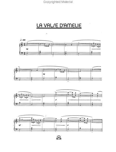 Yann Tiersen Piano Works Le Fabuleux Destin Damélie