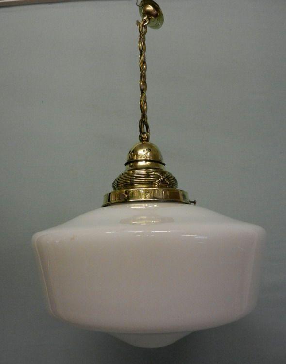 Antique Edwardian Light Hall Fixtures