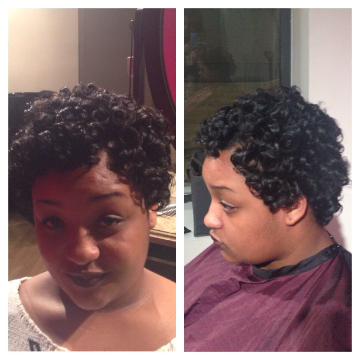 Roller set on natural hair our beautiful hair pinterest roller