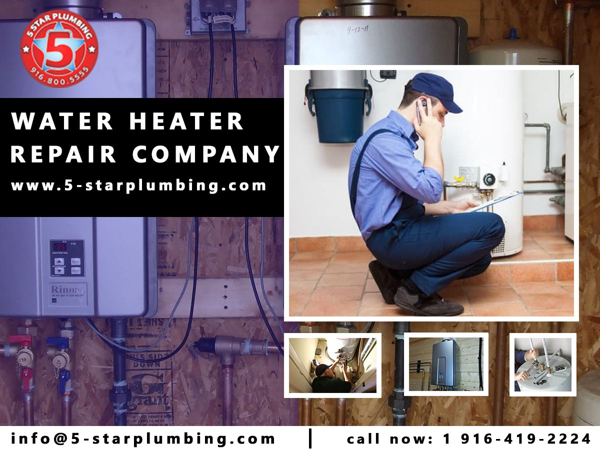 Water Heater Repair Company Equipment gets older and is