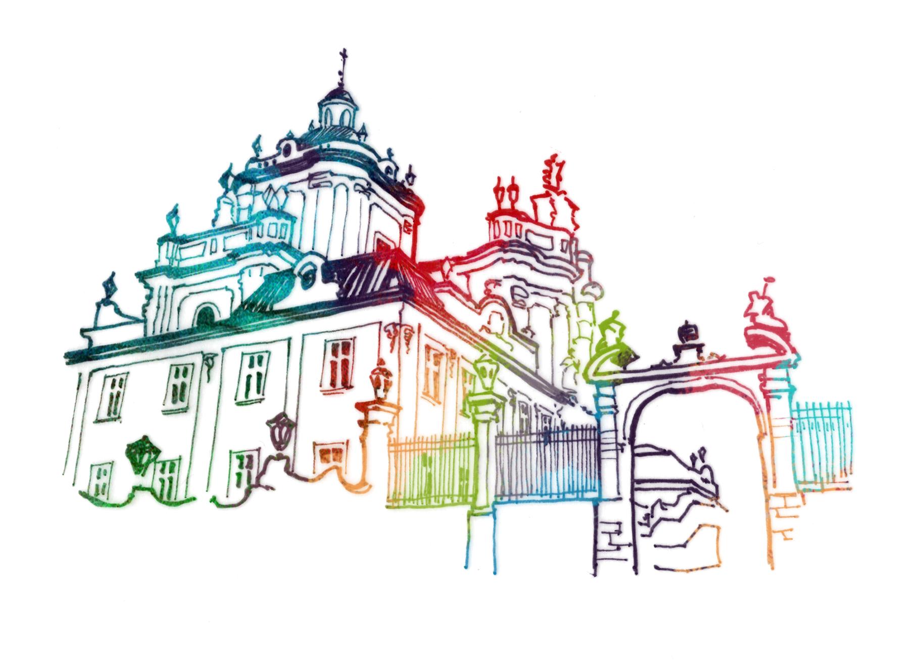 З нагоди празника Святого Юрія та Дня міста Львова відкривається  художня виставка та випущено унікальну поштову марку