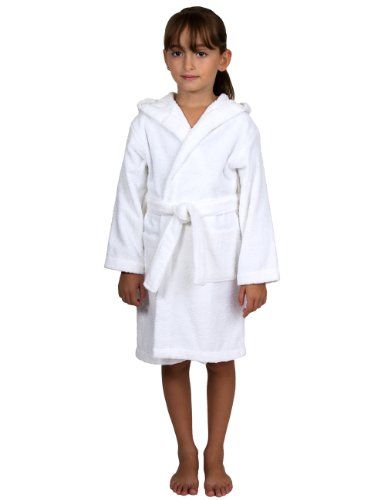 TowelSelections Turkish Cotton Kids Hooded Terry Bathrobe Made in Turkey --  You can get additional details at 78ae6c90c