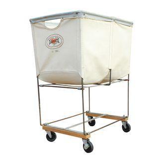 Vintage Dandux Industrial Laundry Cart Vintage Decor Industrial