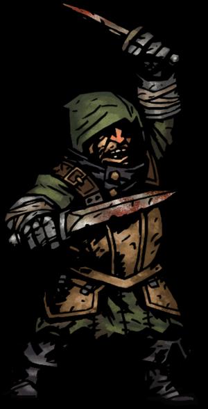Brigand Cutthroat Png Darkest Dungeon Dark Fantasy Dungeon
