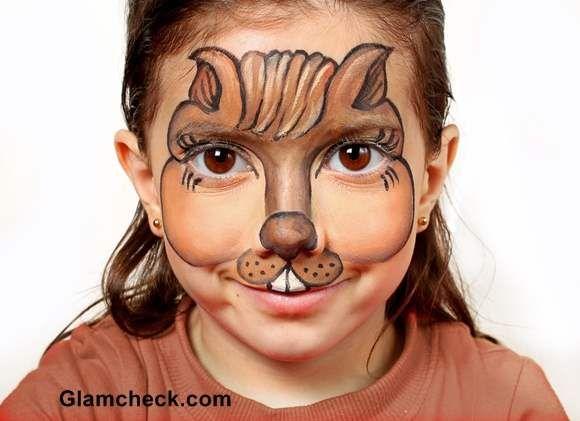 Halloween makeup for kids -Bunny | Bella\'s | Pinterest | Halloween ...