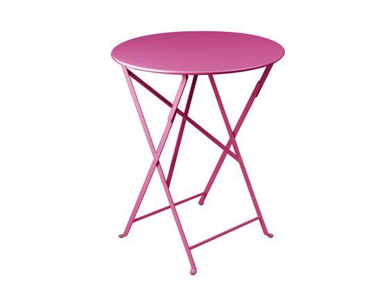 Table Bistro ronde 60 cm, table de jardin, table ronde jardin ...