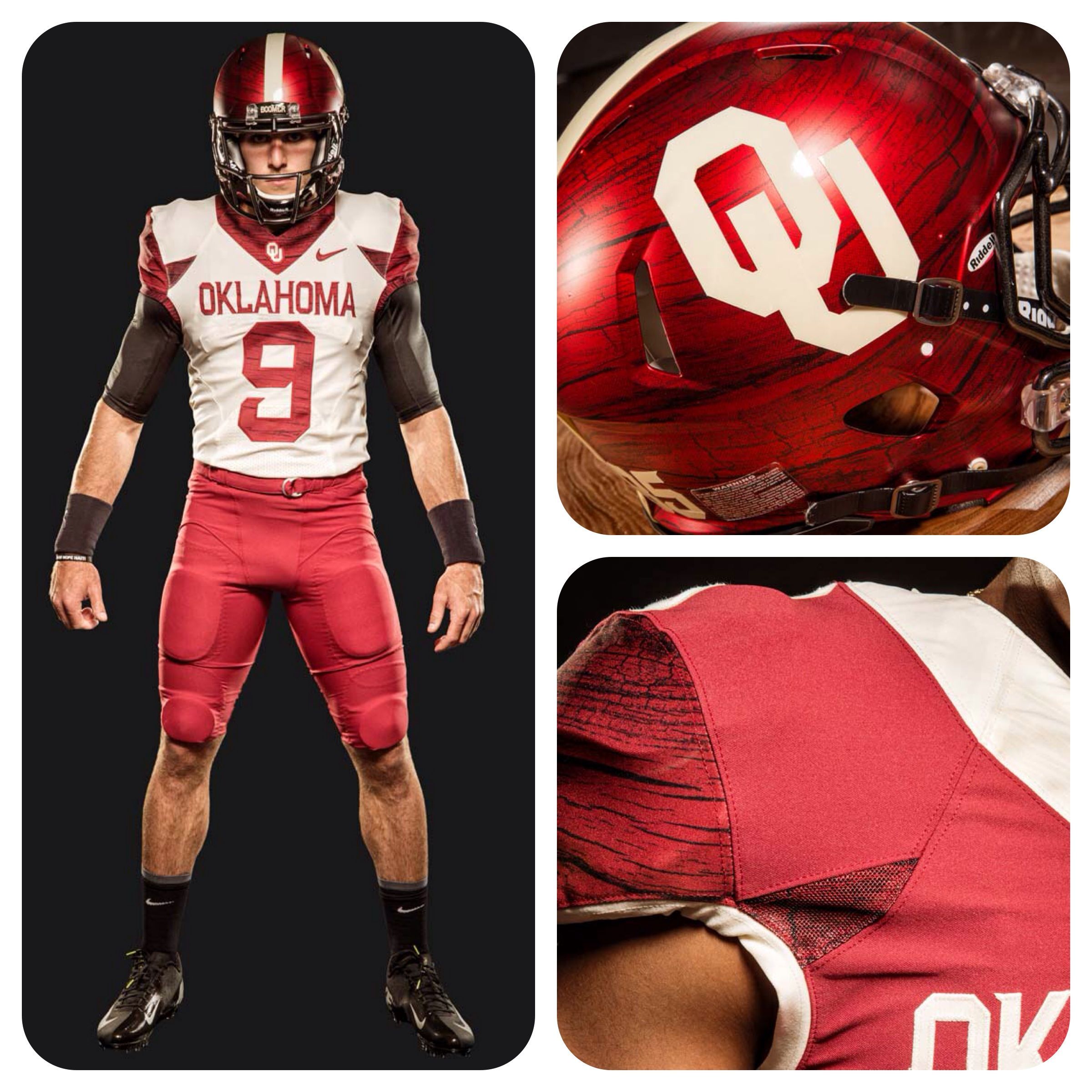 big sale d8023 31c93 OU Football's new alternate uniforms are sharp! | Sooner ...