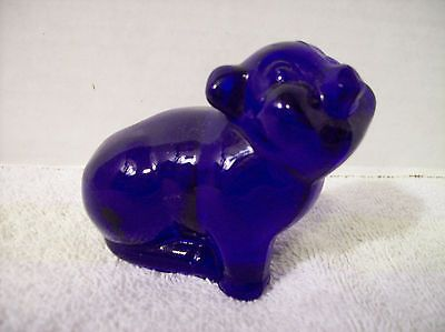 Fenton+Art+Glass+Co.+Pig+Figurine