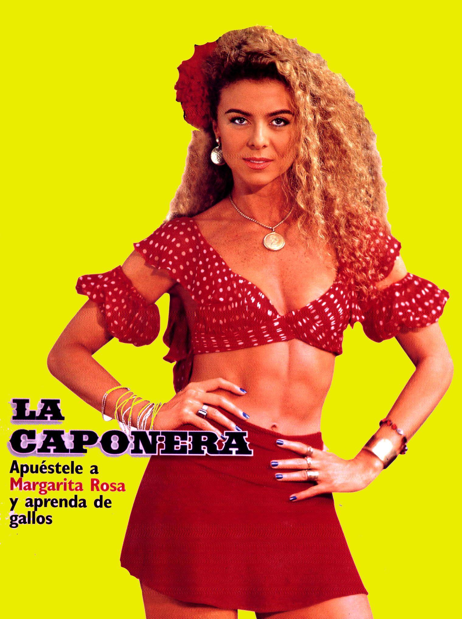 La Caponera Margarita Rosa De Francisco Margaritas Rosas Y Mujeres