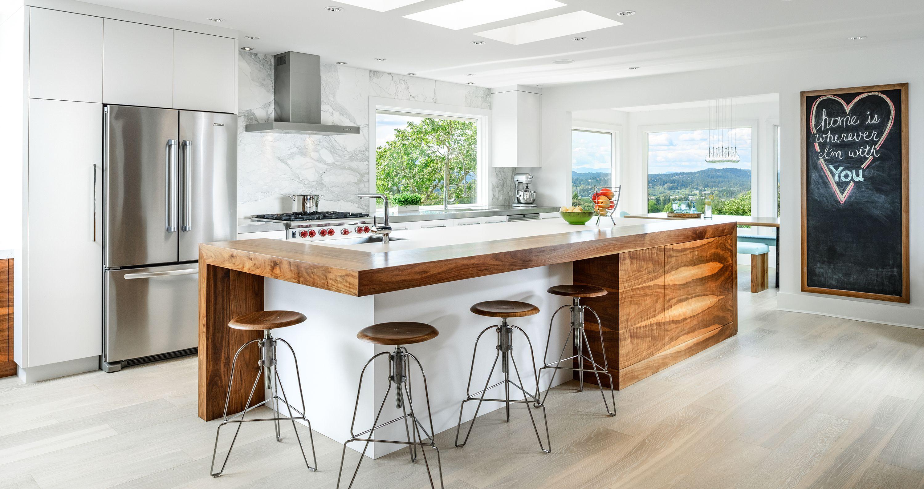 Kitchen And Bath Design In 2015 What S Hot What S Not Kitchen Design Trends Modern Kitchen Island Modern Kitchen Design Kitchen designs for 2015